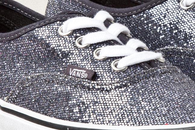 vans authentic glitter