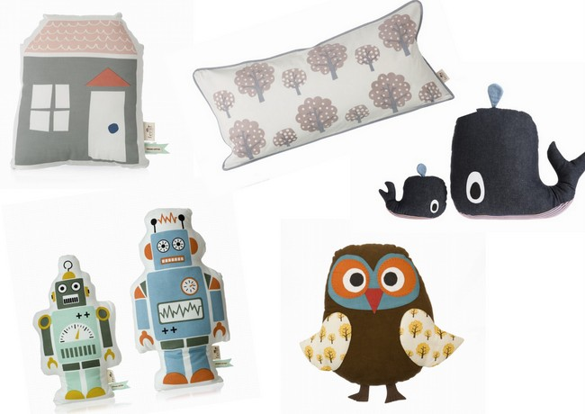 Cojines llenos de magia para los peque os de la casa art culos de lujo regalos y tendencias - Cojines pequenos ...