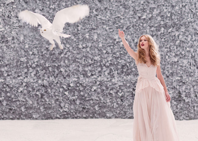 Lechuza blanca con Frida Gustavsson